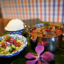 Panang Lamb Curry